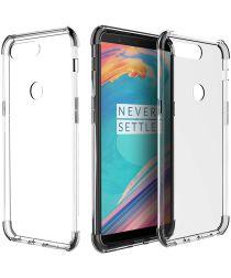 OnePlus 5T Transparant Bumper Hoesje