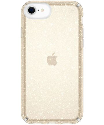 Speck Presidio Apple iPhone SE 2020 Shockproof Hoesje Goud Glitter Hoesjes