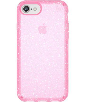 Speck Presidio Apple iPhone SE 2020 Hoesje Roze Shockproof Glitter