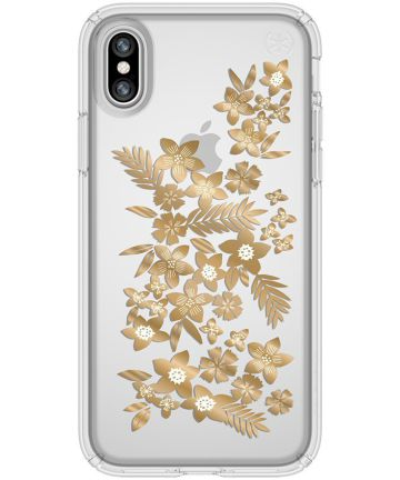 Speck Presidio Hoesje Apple iPhone X Bloemen