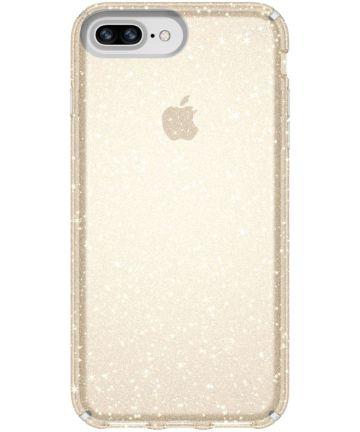 Speck Presidio Glitter Hoesje Apple iPhone 8 Plus / 7 Plus Transparant