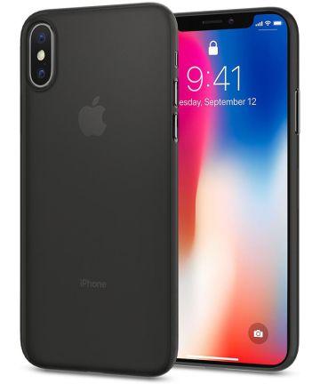 Spigen Air Skin Black Apple iPhone X