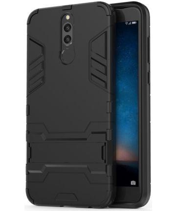 Huawei Mate 10 Lite Hybride Hoesje Zwart Hoesjes