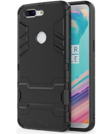 Hybride OnePlus 5T Hoesje Zwart Hoesjes
