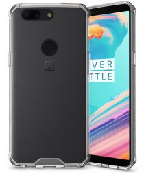 OnePlus 5T Hoesje Armor Backcover Transparant