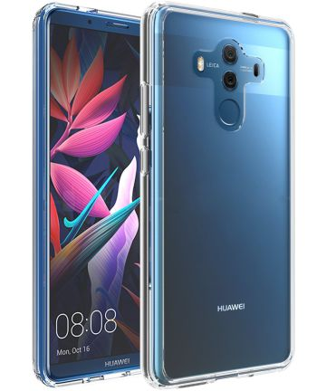 Huawei Mate 10 Pro Hoesje Armor Backcover Transparant Hoesjes