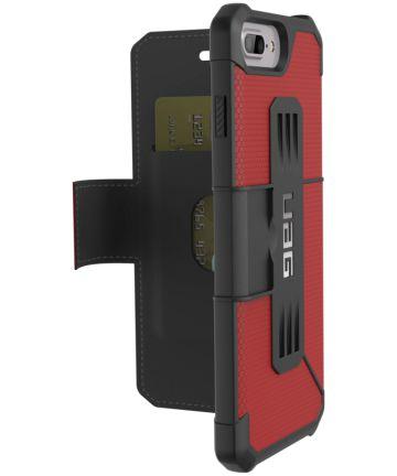 Urban Armor Gear Metropolis Case Apple iPhone 7 / 8 Plus Rood