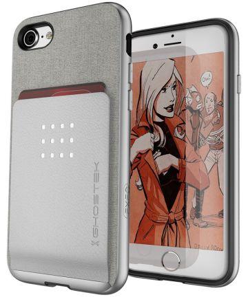 Ghostek Exec2 Hoesje Apple iPhone 8 / 7 Zilver