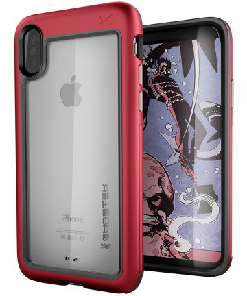 Ghostek Atomic Slim Apple iPhone X Rood