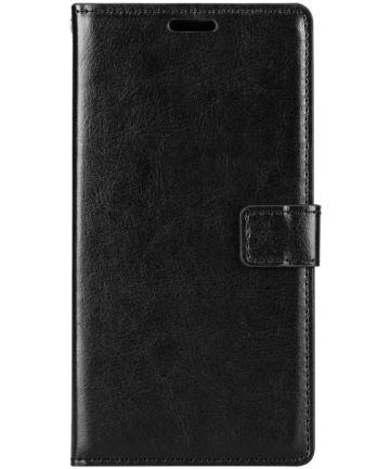 Huawei Mate 10 Lite Hoesje met Kaarthouder Zwart