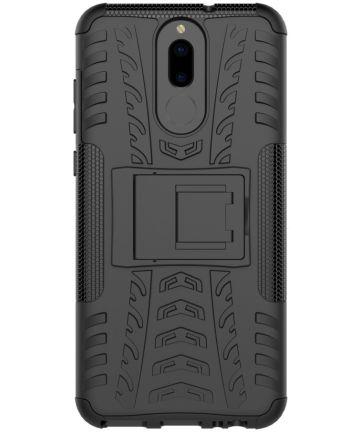 Robuust Hybride Huawei Mate 10 Lite Hoesje Zwart Hoesjes
