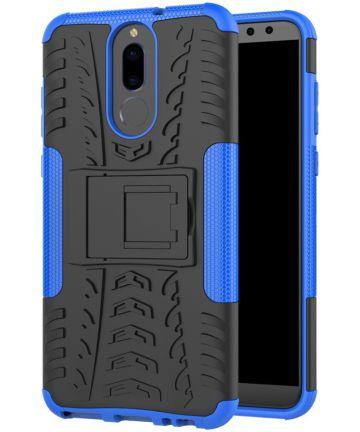 Robuust Hybride Huawei Mate 10 Lite Hoesje Blauw