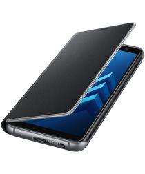 Samsung Galaxy A8 (2018) Neon Flip Cover Zwart
