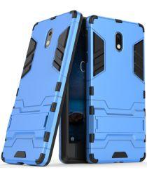 Nokia 3 Hybride Hoesje Blauw