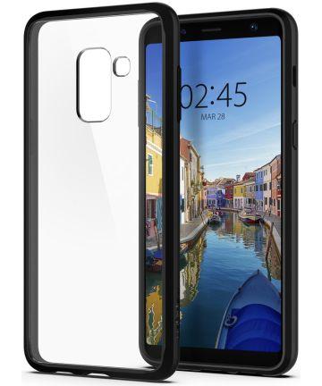 Spigen Ultra Hybrid Case Samsung Galaxy A8 (2018) Matte Black