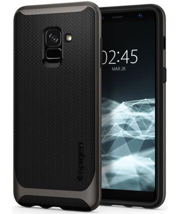 Spigen Neo Hybrid Hoesje Galaxy A8 (2018) Gunmetal