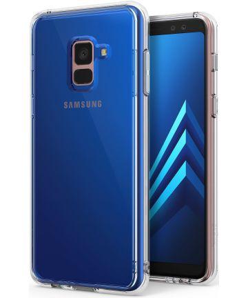 Ringke Fusion Samsung Galaxy A8 2018 Hoesje Doorzichtig Clear