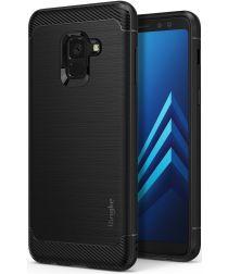 Ringke Onyx Samsung Galaxy A8 2018 Rugged Hoesje Zwart