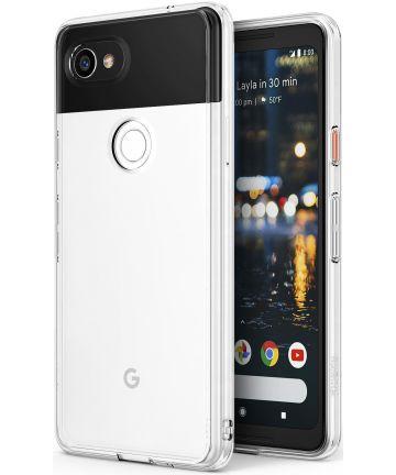 Ringke Fusion Google Pixel 2 XL Hoesje Transparant Hoesjes