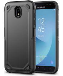 Samsung Galaxy J7 (2017) Stevig Hybride Hoesje Zwart