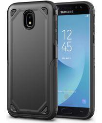 Samsung Galaxy J5 (2017) Stevig Hybride Hoesje Zwart