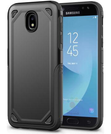 Samsung Galaxy J5 (2017) Stevig Hybride Hoesje Zwart Hoesjes