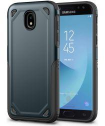Samsung Galaxy J5 (2017) Stevig Hybride Hoesje Blauw