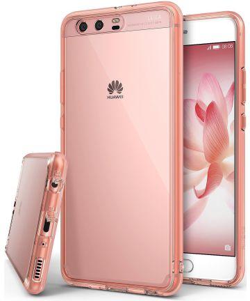 Ringke Fusion Huawei P10 Plus Hoesje Rose Gold