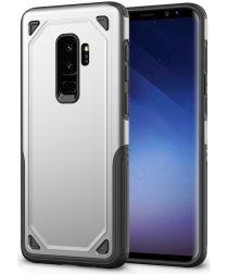 Samsung Galaxy S9+ Hybride Rugged Armor - Zilver