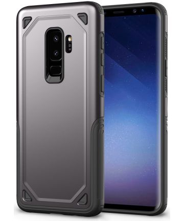 Samsung Galaxy S9+ Hybride Rugged Armor - Grijs