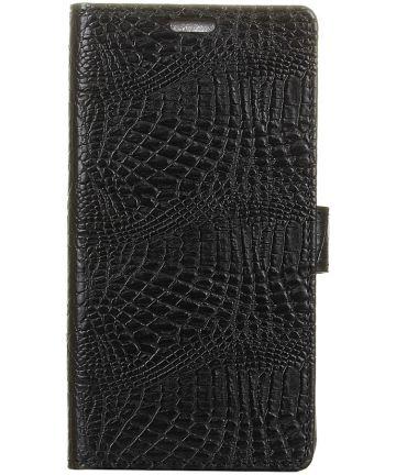 Sony Xperia XA2 Flip Hoesje met Standaard Zwart