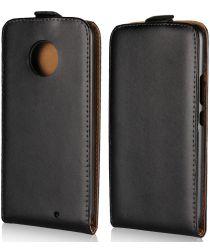 Motorola Moto X4 (4th gen.) Klassieke Flip Case Zwart