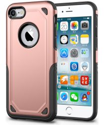 Apple iPhone 8 / 7 Hybride Rugged Armor - Roze Goud