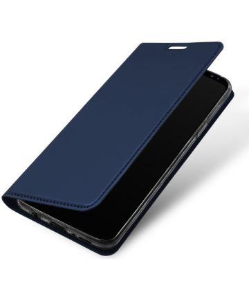 Dux Ducis Samsung Galaxy S9 Premium Bookcase Blauw