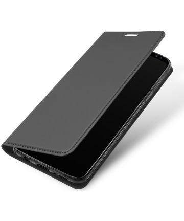 Dux Ducis Samsung Galaxy S9 Plus Premium Bookcase Hoesje Grijs Hoesjes