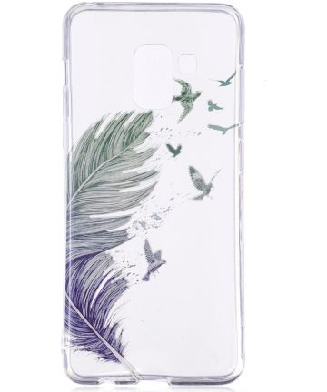 Samsung Galaxy A8 (2018) TPU Back Cover Feather