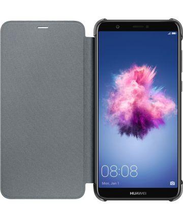 Huawei P Smart Originele flip cover zwart Hoesjes
