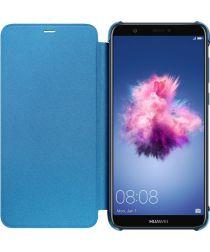 Huawei P Smart Originele flip cover blauw
