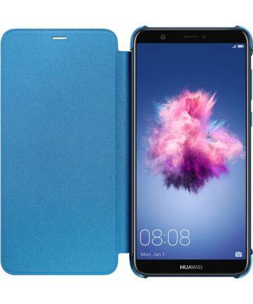 Huawei P Smart Originele flip cover blauw Hoesjes