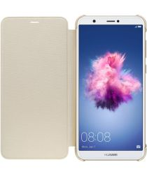 Huawei P Smart Originele flip cover goud