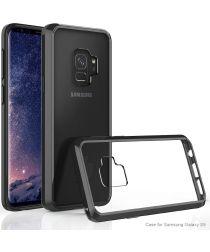 Samsung Galaxy S9 Hoesje met Bumper Zwart
