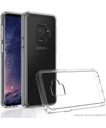 Samsung Galaxy S9 Hoesje met Bumper Transparant