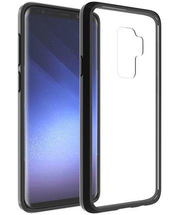 Samsung Galaxy S9 Plus Hoesje met Bumper Zwart