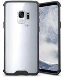 Samsung Galaxy S9 Hybrid Armor Backcover Zwart