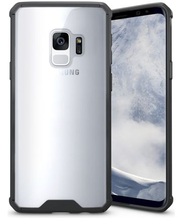 Samsung Galaxy S9 Hybrid Armor Backcover Zwart Hoesjes