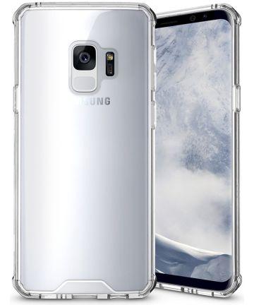 Samsung Galaxy S9 Hybrid Armor Backcover Transparant Hoesjes