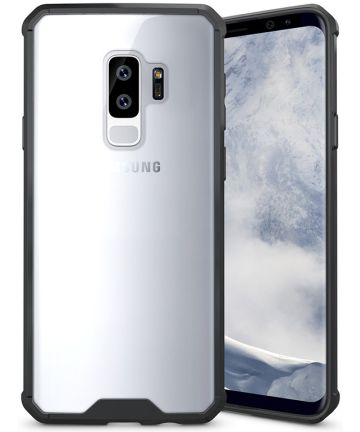 Samsung Galaxy S9 Plus Hybrid Armor Backcover Zwart