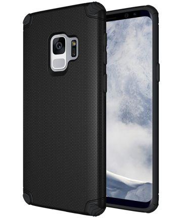 Samsung Galaxy S9 Armor TPU Hoesje Zwart