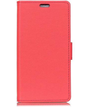 Huawei P Smart Hoesje met Kaarthouder Rood
