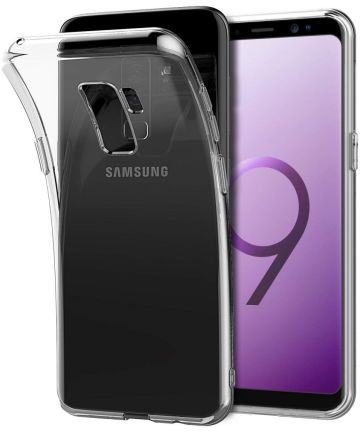Samsung Galaxy S9 Plus Transparant Hoesje